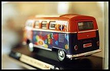 Photo: VW toy car.