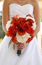 Photo: Glasgow Wedding flowers.