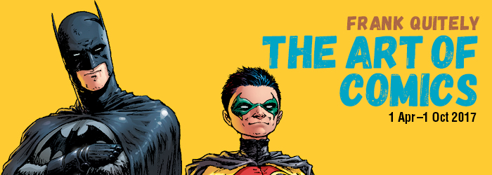 <h5>The Art of Comics</h5><p>Frank Quitely at Kelvingrove 1 April – 1 October, 2017</p>