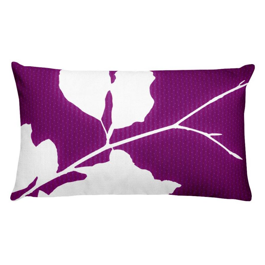 Pillow Design from tree branch