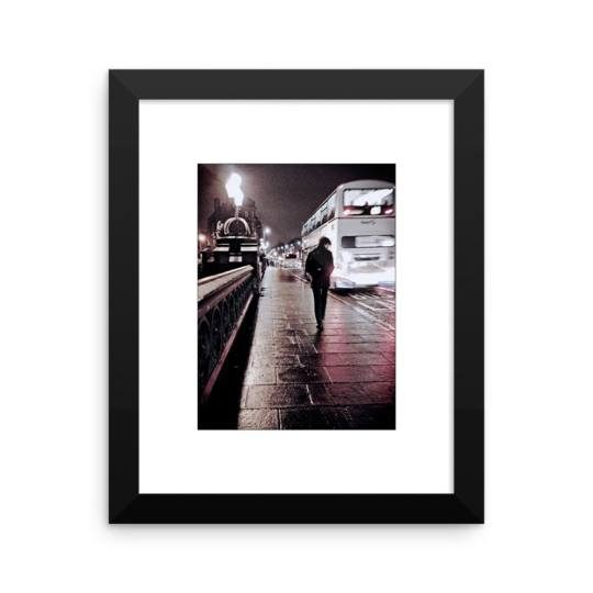 Framed Print: Kelvinbrove Boy