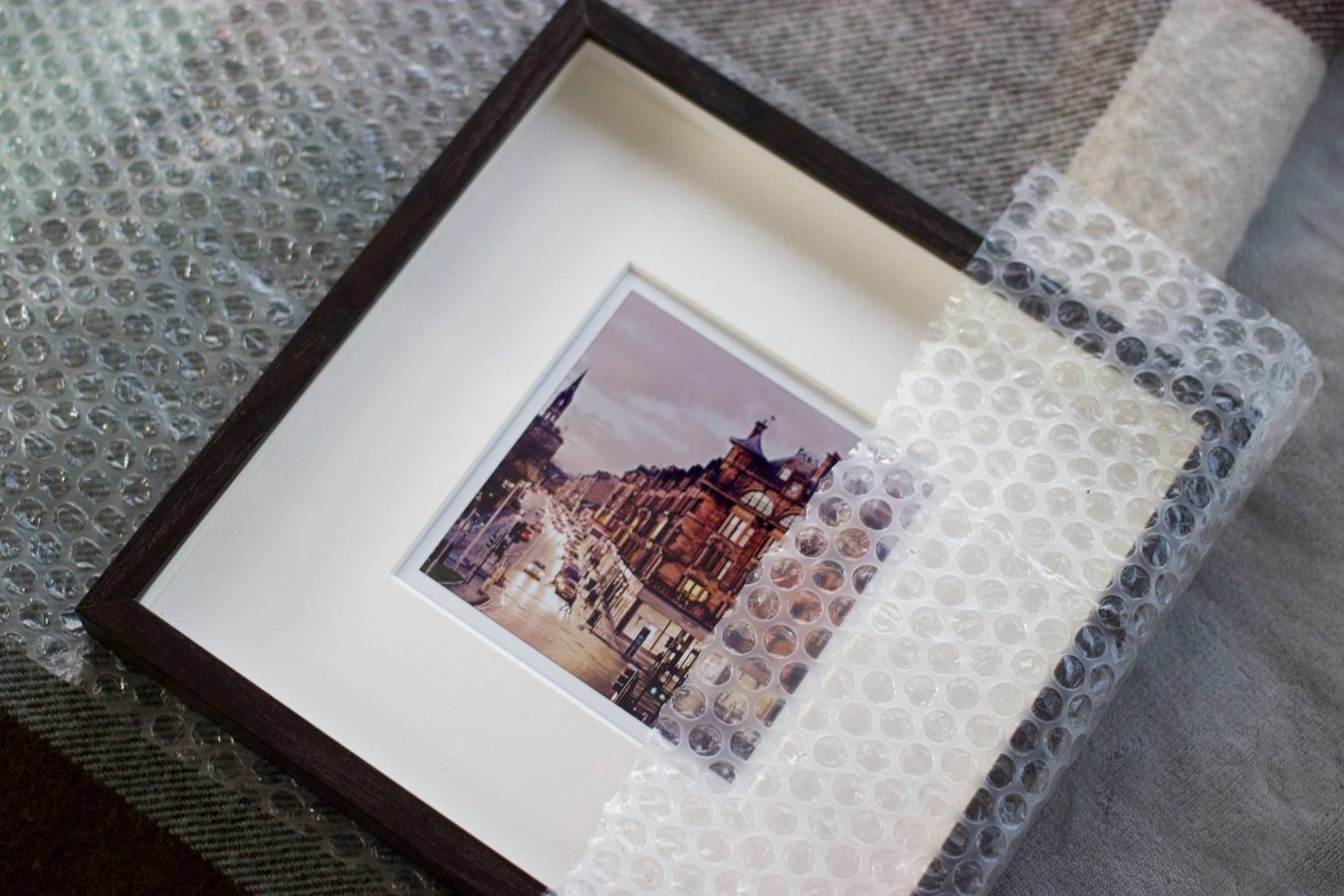 Framed Photo of Georges Cross