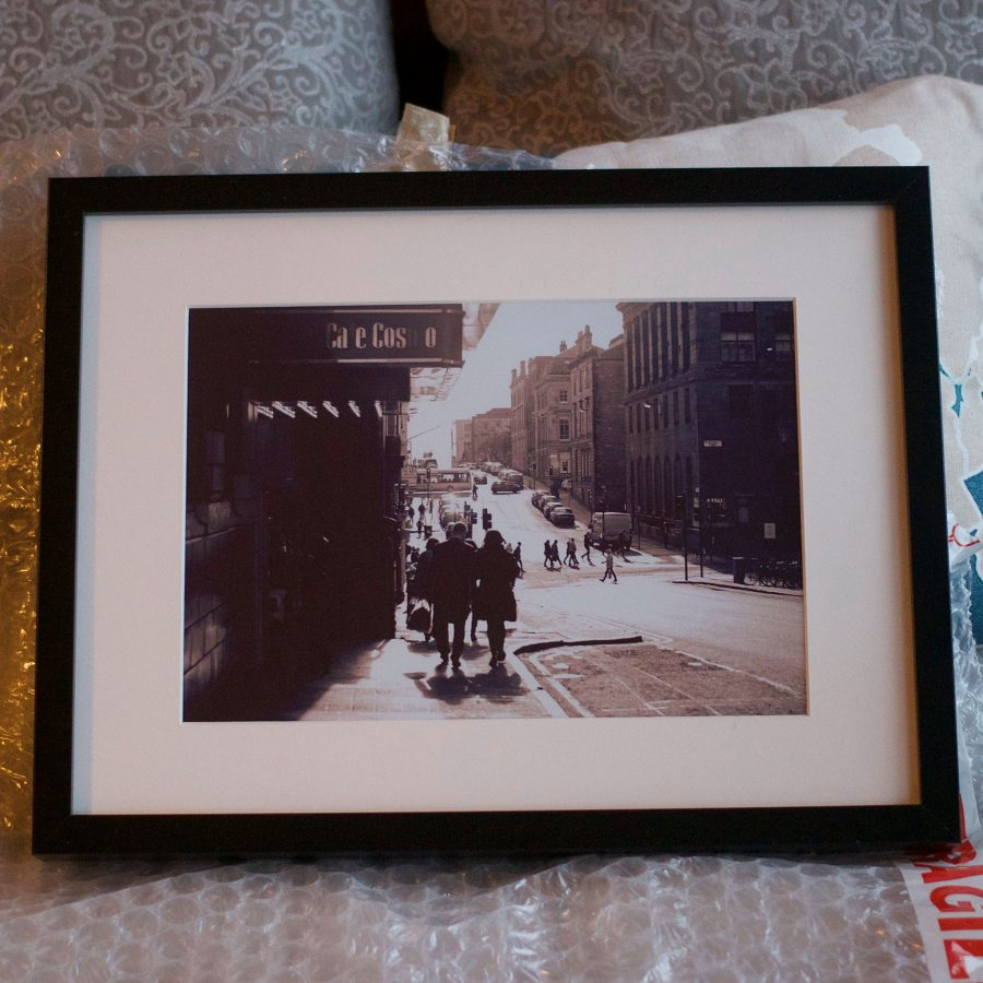 Framed Photo of GFT Rose St