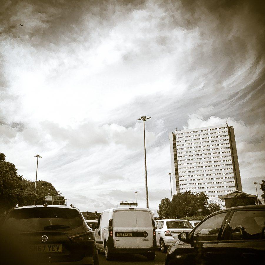 Anniesland sky.