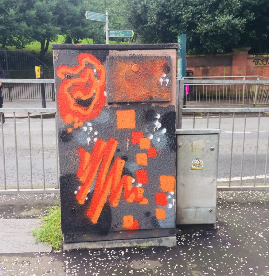 West End graffiti