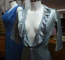 Blue dress, Circa