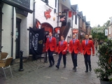 <h5>Jersey Boys Theatre Group visit Ashton Lane</h5>