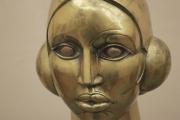 <h5>Bronze bust by John Duncan Fergusson in Hunterian Art Gallery</h5>