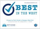 Best In The West Certificate