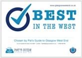 Best In West Certificate