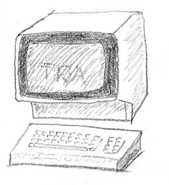 Dumb computer terminal
