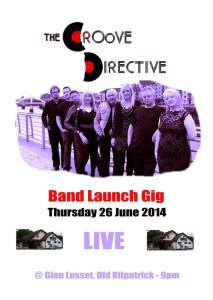 groove directive band launch