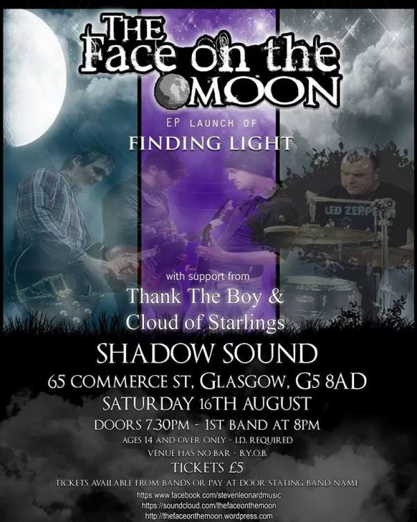 finding light the face of the moon ep