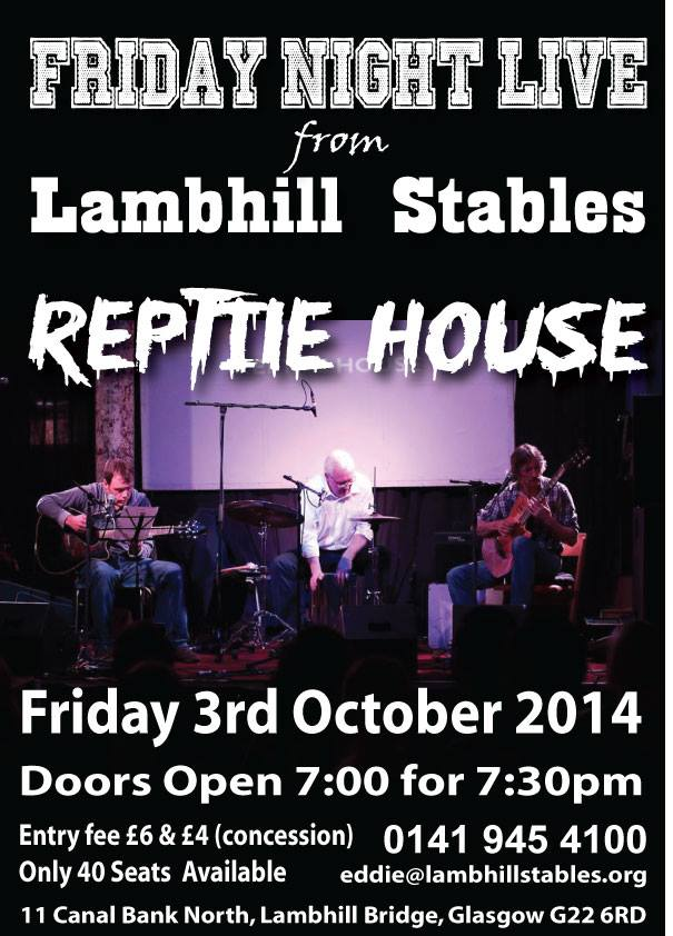 reptile house. 3 oct, lambhill stables
