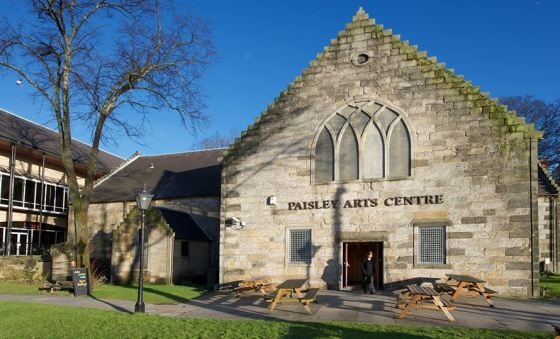 paisley arts centre poetry