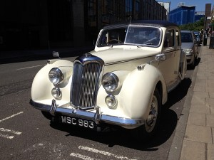 Old Classic Riley Car