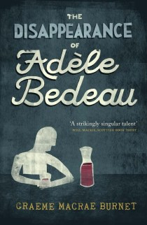 The Disappearance of Adèle Bedeau_Cover