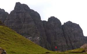 Under the Storr Cliffs. Skye