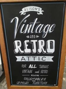 board vintage retro