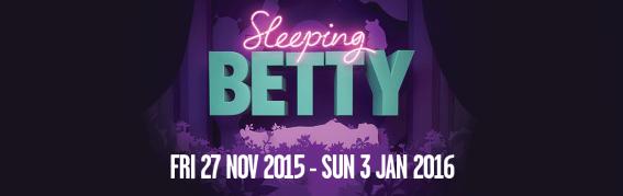 sleeping betty