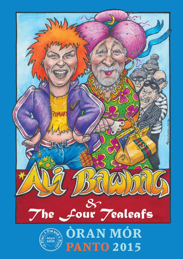 ali bawbag and the four tea leaves