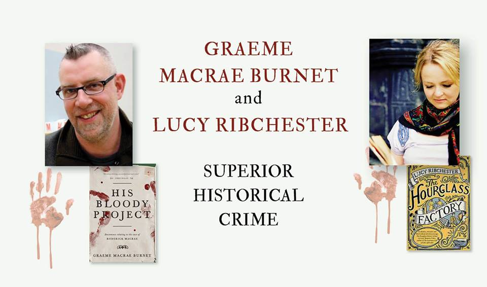 graeme macrae burnet and lucy ribchester