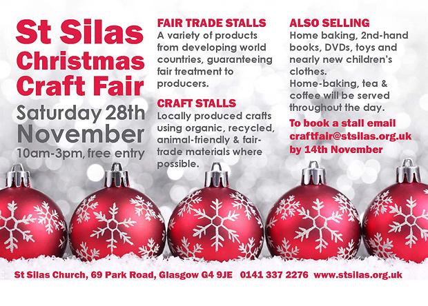 st silas christmas craft fair