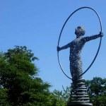 Science Park. Sculpture Maryhill Road