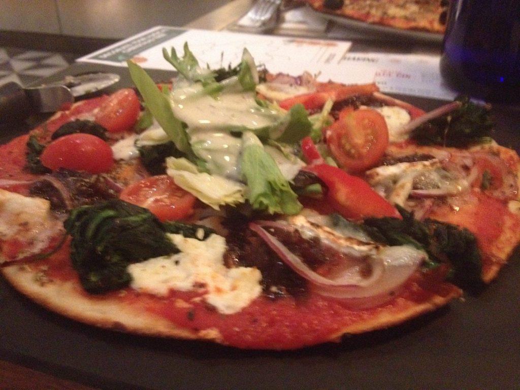 chrismas pizza