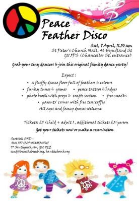 Peace Feather Disco