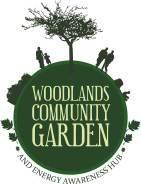 woodland community gardens logo
