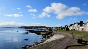 The Waterfront. Millport Walk