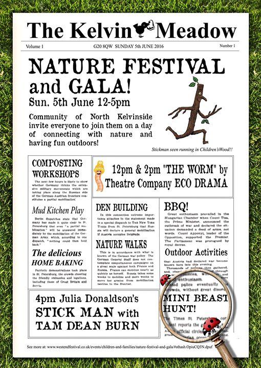 nature festival poster