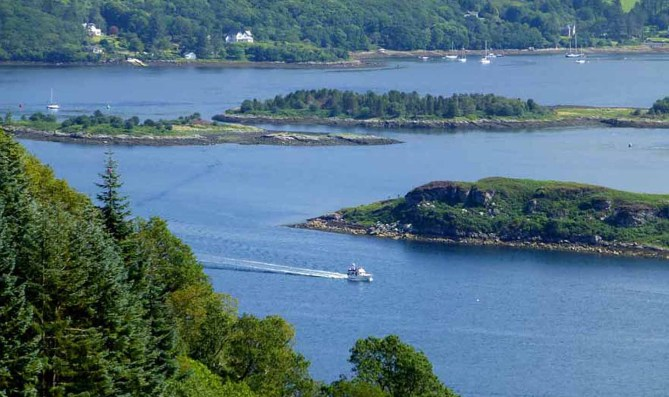 Above The Kyles Of Bute