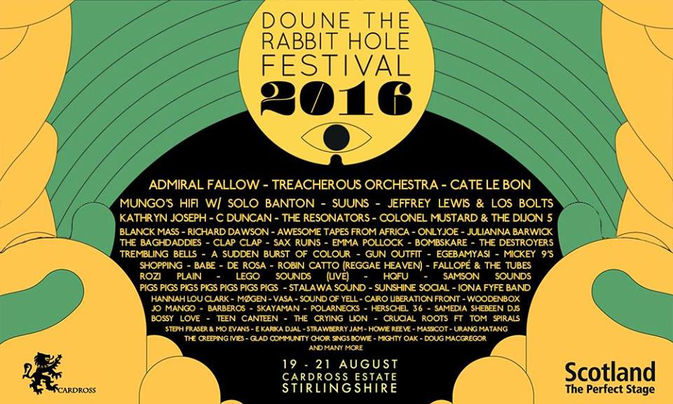doune the rabbit hole festival 2016
