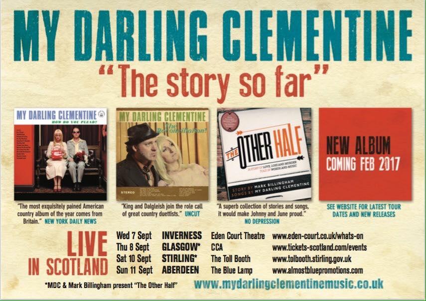 my darling clementine and mark billingham