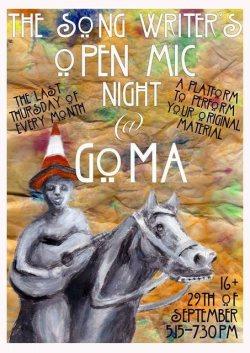 goma open mic