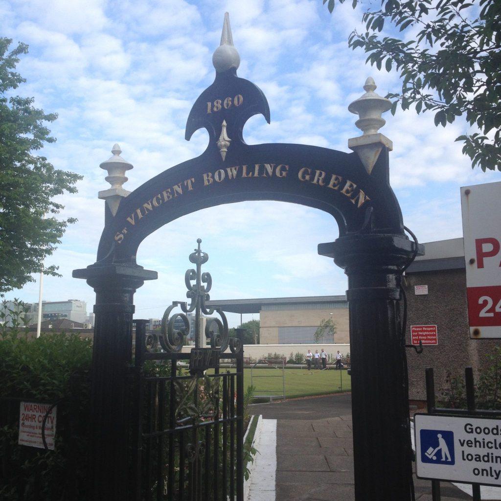 Bowling Club Gate