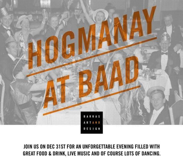 hogmanay at baad