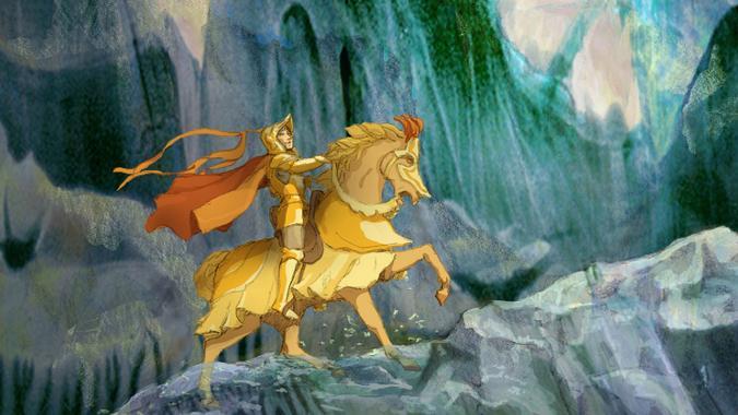 the golden horse