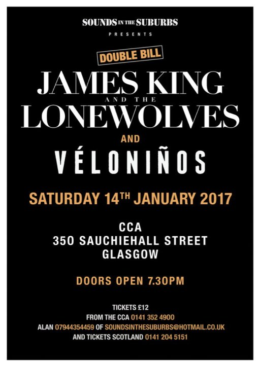 james king and the lone wolves