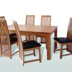 ble and chairs