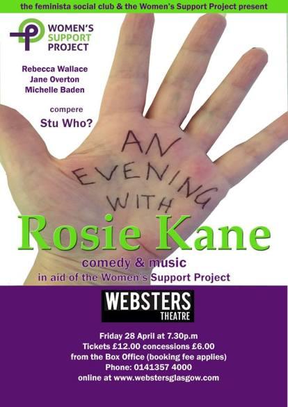evening with rosie kane