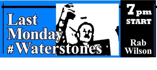 last monday #waterstones