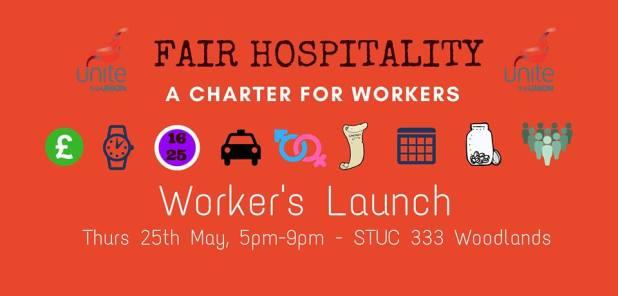 fair hospitality wrkers launch