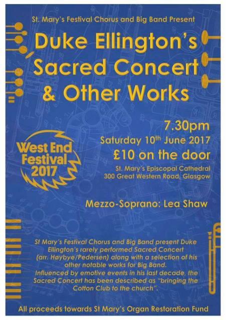duke ellington sacred concert