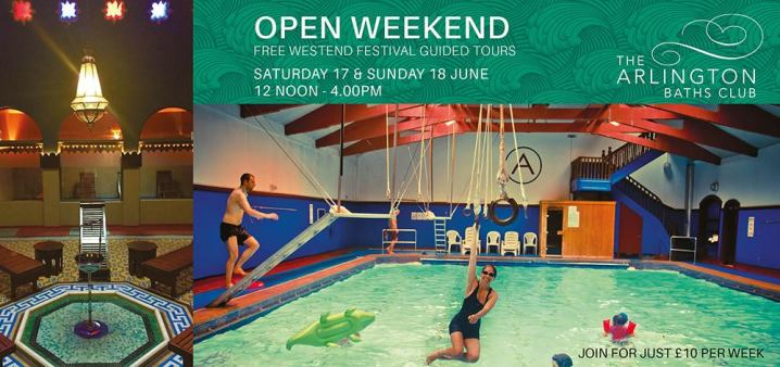 open weekend arlington baths