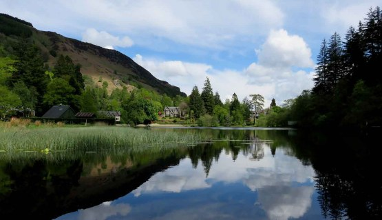 Reflections. Loch Ard Perfection