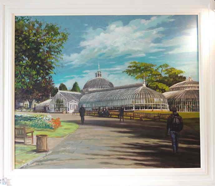 allan's art biecentenary. frame