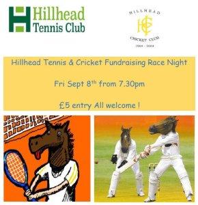 hillhad tennis 8 sept fundraising night